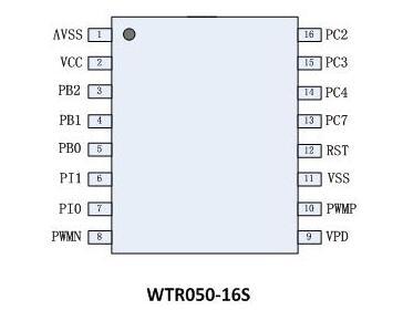 WTR050 Audio Recording Chip