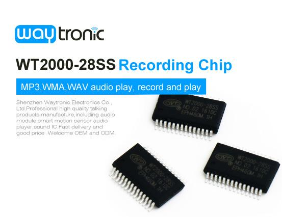 WTV020 Voice Sound Recording Module MP3 Playback MCU Music Audio Recorder Board