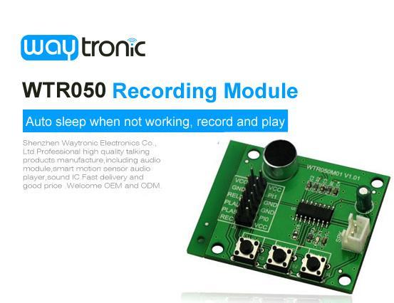 WTR030-M01 Voice Recording Module, Voice Recorder Playback Module